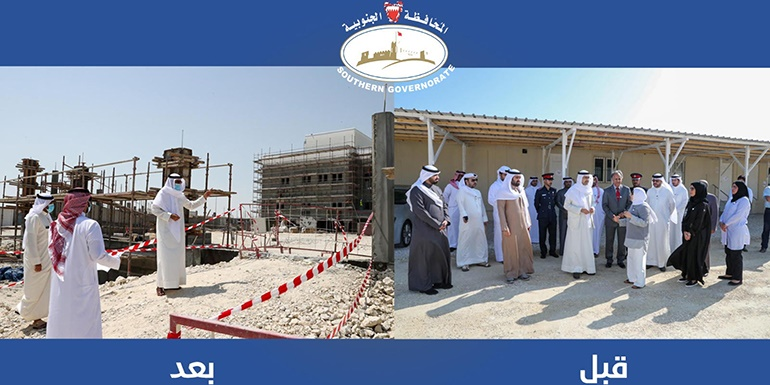 HH the Southern Governor Makes Oversight Visit to Khalifa City