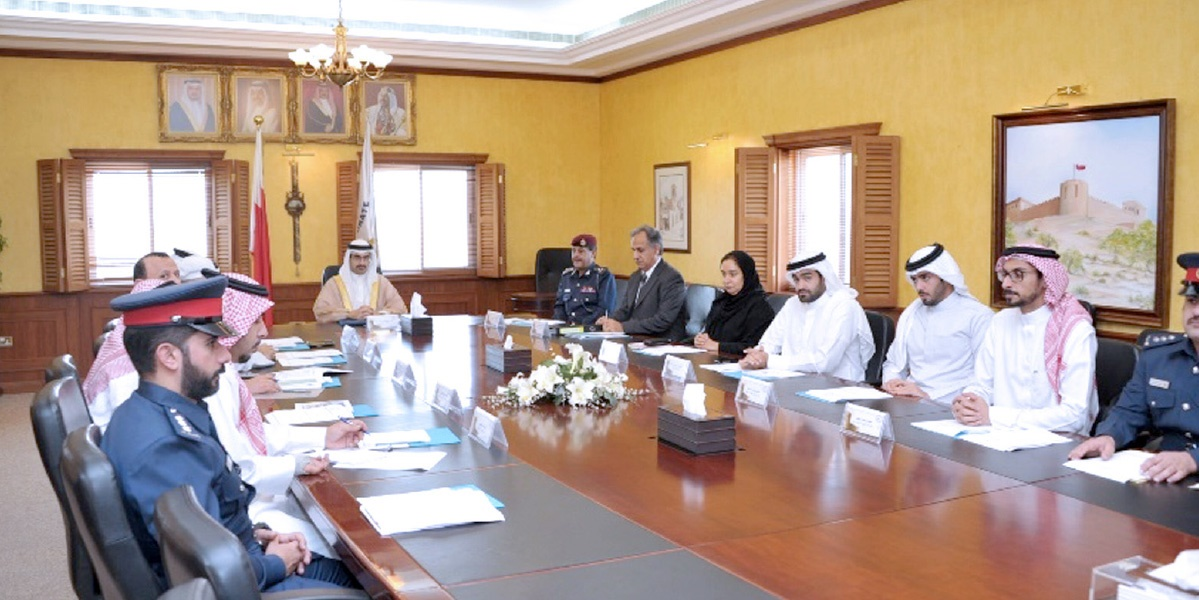 His Highness the Governor discusses the most prominent issues Security in the various regions of the Governorate
