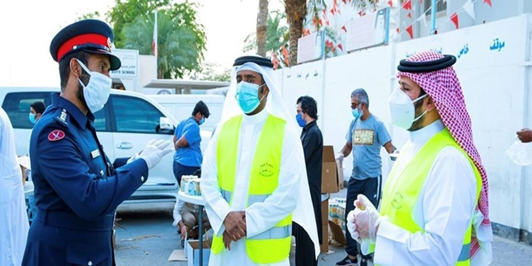 Participation in the national campaign to combat coronavirus (feena khair)