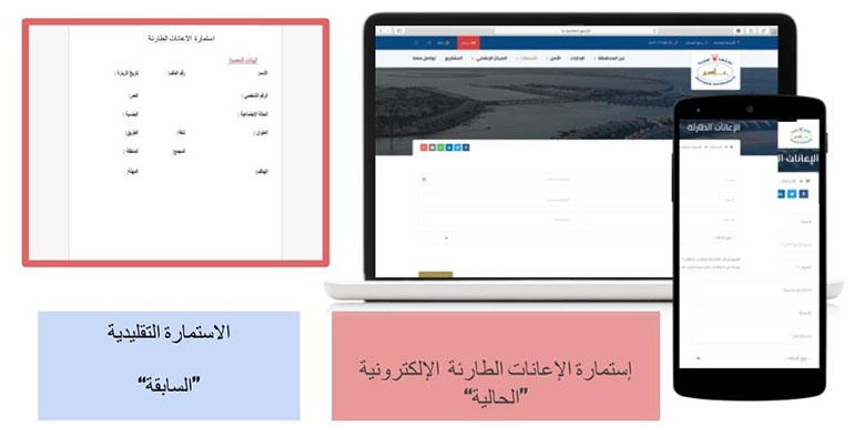 "In a Proactive Step to Meet the Needs of the People and Citizens Southern Governorate Launches a ""Digital Emergency Aid Service"""